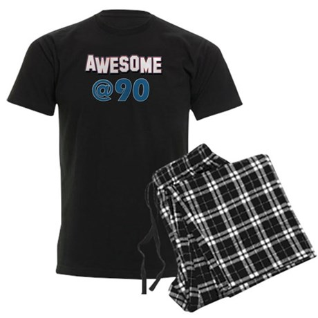 Awesome at 90 Men's Dark Pajamas