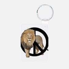 peace Lion Keychains