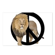 peace Lion Postcards (Package of 8)
