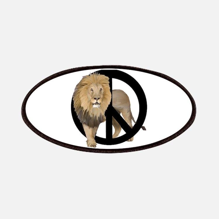 Peace Lion Patches