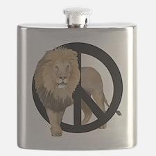 peace Lion Flask