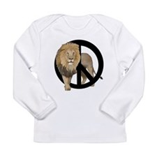 peace Lion Long Sleeve Infant T-Shirt
