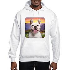 French Bulldog Meadow Hoodie