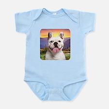 French Bulldog Meadow Infant Bodysuit