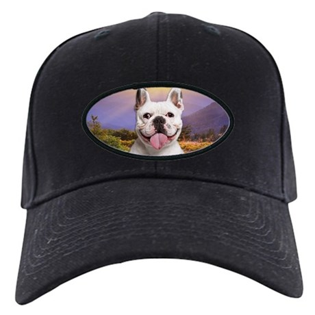 French Bulldog Meadow Black Cap