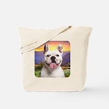 French Bulldog Meadow Tote Bag