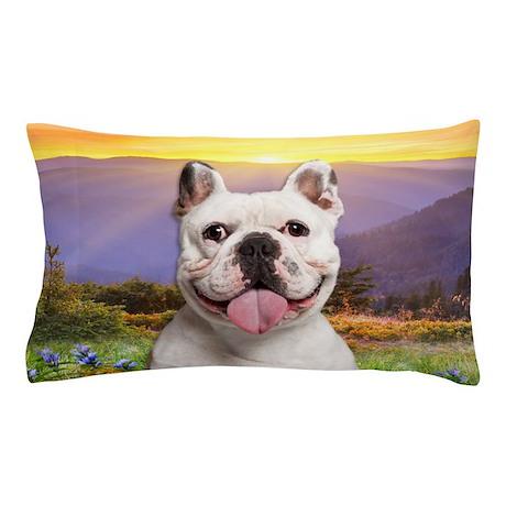 French Bulldog Meadow Pillow Case