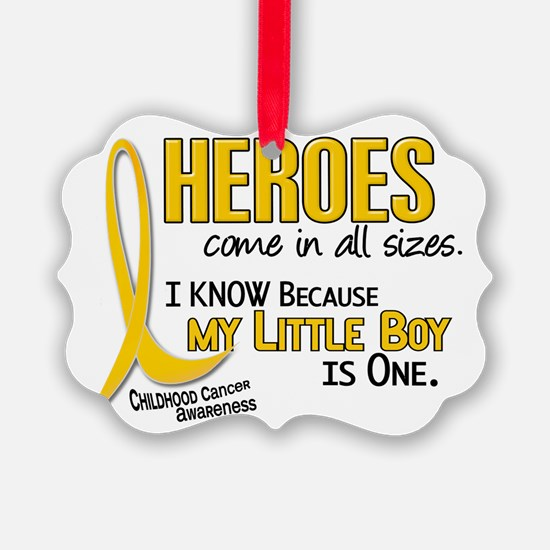 Unique Childhood cancer Ornament