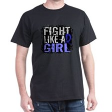 Licensed Fight Like a Girl 31.8 Syrin T-Shirt