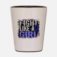 Licensed Fight Like a Girl 31.8 Syringo Shot Glass