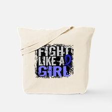 Licensed Fight Like a Girl 31.8 Syringomy Tote Bag