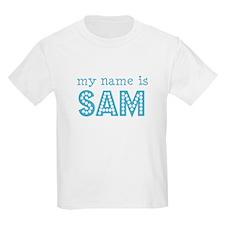 My name is Sam Kids T-Shirt