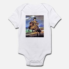 PRINCE ON HORSEBACK Infant Bodysuit