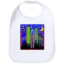 Houston Skyline nightlife Bib