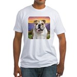 Bulldog Meadow Fitted T-Shirt