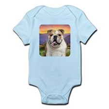 Bulldog Meadow Infant Bodysuit