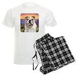 Bulldog Meadow Men's Light Pajamas