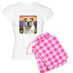 Bulldog Meadow Women's Light Pajamas