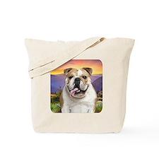 Bulldog Meadow Tote Bag