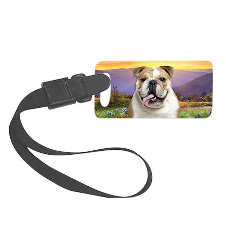 Bulldog Meadow Small Luggage Tag