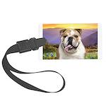 Bulldog Meadow Large Luggage Tag