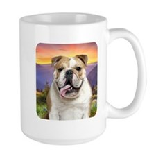 Bulldog Meadow Mug