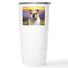Bulldog Meadow Travel Mug