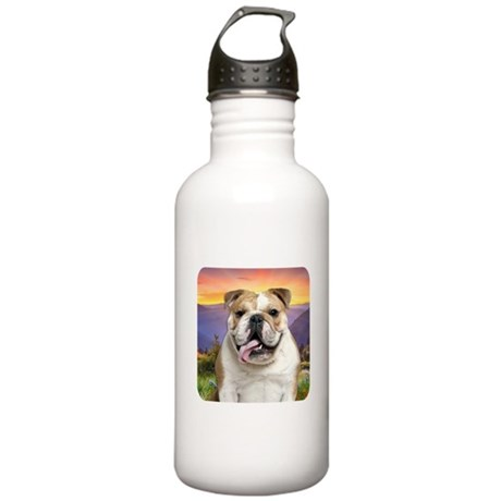 Bulldog Meadow Stainless Water Bottle 1.0L