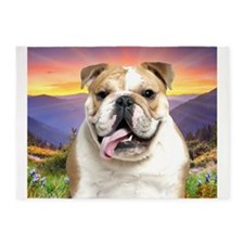 Bulldog Meadow 5'x7'Area Rug