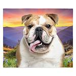 Bulldog Meadow King Duvet