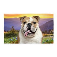 Bulldog Meadow 3'x5' Area Rug