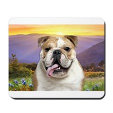 Bulldog Meadow Mousepad