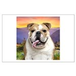 Bulldog Meadow Large Poster