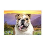 Bulldog Meadow Mini Poster Print
