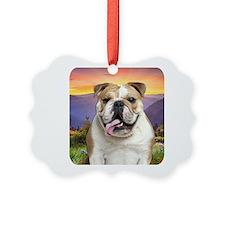 Bulldog Meadow Ornament