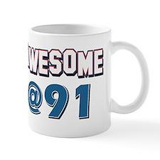 Awesome at 91 Mug