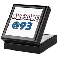 Awesome at 93 Keepsake Box