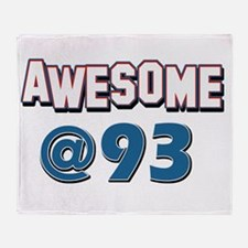 Awesome at 93 Throw Blanket