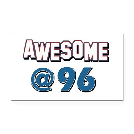 Awesome at 96 Rectangle Car Magnet