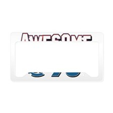 Awesome at 96 License Plate Holder