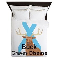 buck-graves-disease.png Queen Duvet