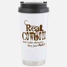 Real Cowboys Stainless Steel Travel Mug