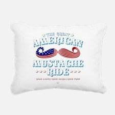 The Great American Mustache Ride Rectangular Canva
