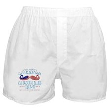 The Great American Mustache Ride Boxer Shorts