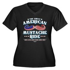 The Great American Mustache Ride Women's Plus Size