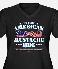 The Great American Mustache Ride Women's Plus Size