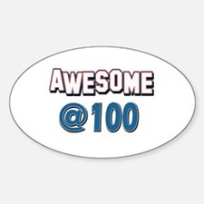 Awesome at 100 Decal