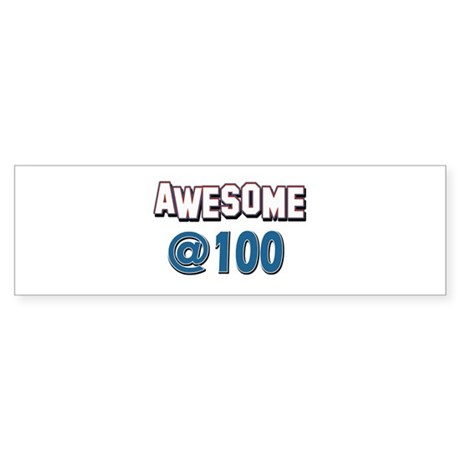 Awesome at 100 Sticker (Bumper 10 pk)