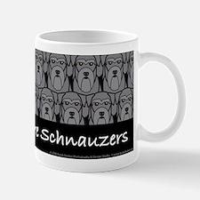 I Love Mini Schnauzers Mug