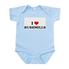 I HEART BUSHMILLS  Infant Creeper